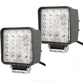 TURBO 2Pcs 48w 220 lumen Waterproof LED Working light 30 degree spot beam for ATV SUV 4X4 Car Lamp