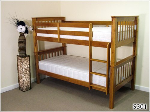 BRAND NEW 3FT SOLID PINE BUNK BED FRAME RRP £449