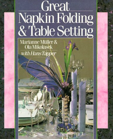 Great Napkin Folding & Table Setting front-979562