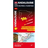 Andalousie (Espagne), carte rgionale, routire & touristiquepar Blay-Foldex