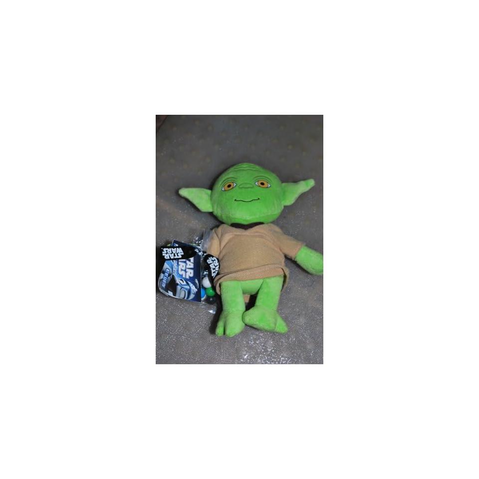 Star Wars Yoda Stuffed Animal Plush Figure With Gumballs Ages 3