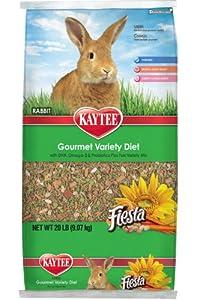 Kaytee Fiesta Rabbit Food, 20-Pound