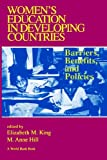 img - for Women's Education in Developing Countries: Barriers, Benefits and Policies (World Bank) book / textbook / text book