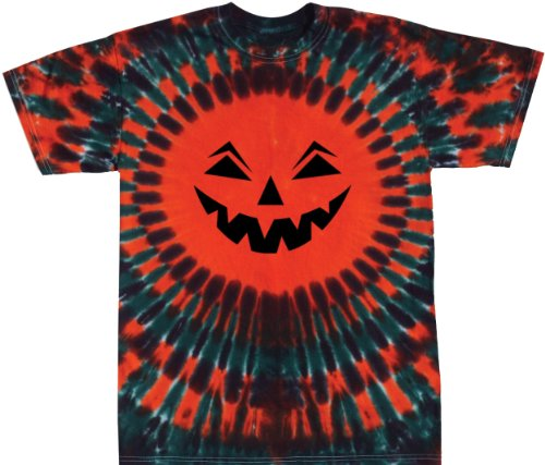 Tie Dyed Jack-O-Lantern Shirt Adult and Youth Sizes