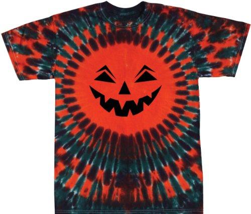 Tie Dyed Jack-O-Lantern Shirt Adult and Youth Sizes
