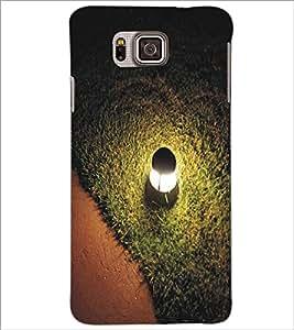 SAMSUNG GALAXY ALPHA LAMP Designer Back Cover Case By PRINTSWAG