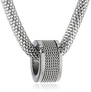 Mike Ellis New York Damen Halskette Edelstahl 42.0 cm S226 IPS