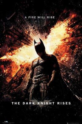バットマン ダークナイト ライジング BATMAN THE DARK KNIGHT RISES ポスター (120713)