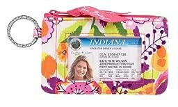 Vera Bradley Zip ID Case in Clementine
