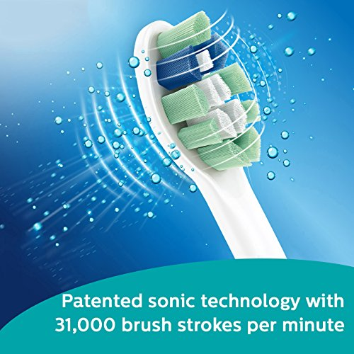 PHILIPS飞利浦 HX6212/05 Sonicare 充电式音波震动牙刷,送替换刷头及便携盒图片