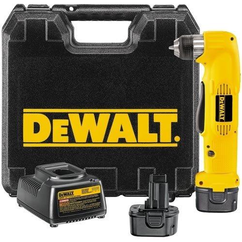 DEWALT DW955K 9.6 Volt 3/8-Inch Cordless Right Angle Drill/Driver Kit
