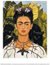 Frida Kahlo Self Portrait with Thorn…
