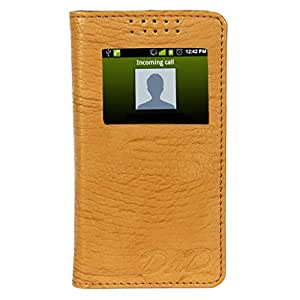 D.rD Flip Cover with screen Display Cut Outs designed for SAMSUNG GALAXY ON7