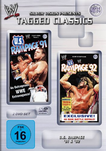 WWE - U.S. Rampage 91+92 [2 DVDs]