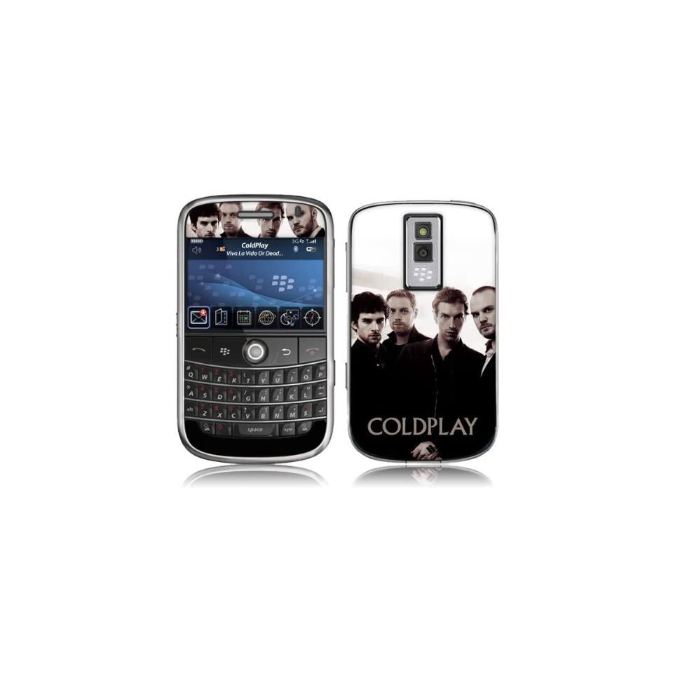 Zing Revolution MS CP20007 BlackBerry Bold 9000 Coldplay