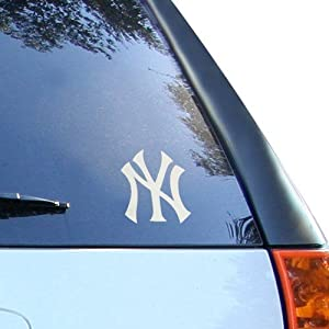 New York Yankees SILVER Window Graphic