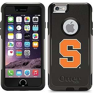 Coveroo Syracuse Orange S Design Phone Case for iPhone 6 - Retail Packaging - Black