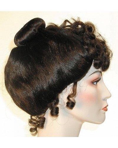 Standard Gibson Girl Upsweep American Beauty Wig - White (Gibson Girl Wig)