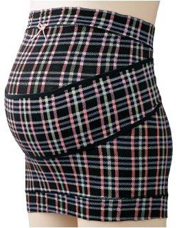 Angeliebe エンジェリーベ ベルト 付 き 妊娠 帯 フリー ブラック チェック