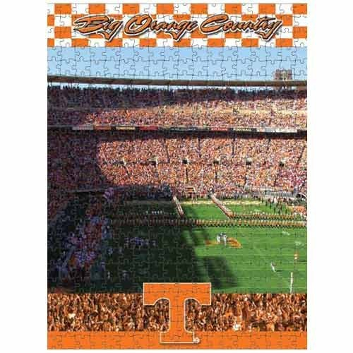 Cheap Fun Racing Reflections Tennessee Volunteers 18X22 550 Piece Jigsaw Puzzle (B002QW1LNK)