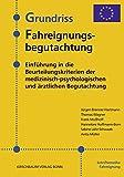 Grundriss Fahreignungsbegutachtung: Einführung in die Beurteilungskriterien der medizinisch-psychologischen und ärztlichen Begutachtung