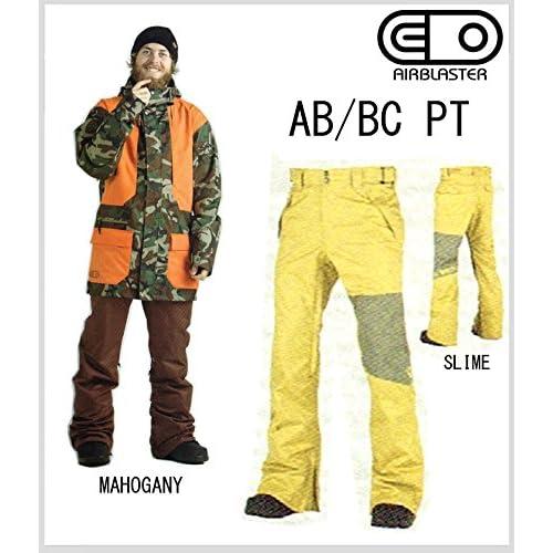 【スノーボード ウェア ウエアー】【SNOW WEAR】14-15 【 AIRBLASTER 】【 AB/BC PT 】【 SLIME 】【 M 】