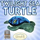 Cloud b Twilight Sea Turtle Constellation Night Light (7333-ZZ) + NiMH AAA Rechargeable Batteries and Charger DavisMAX Bundle