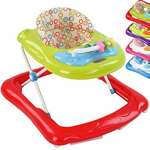 Babywalker Lauflernhilfe Gehfrei Lauflernwagen Walker Gehhilfe inkl. Konsole mit schönen Kindermelodien