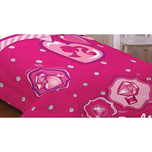 Barbie Sweet Silhouette Twin Comforter Set