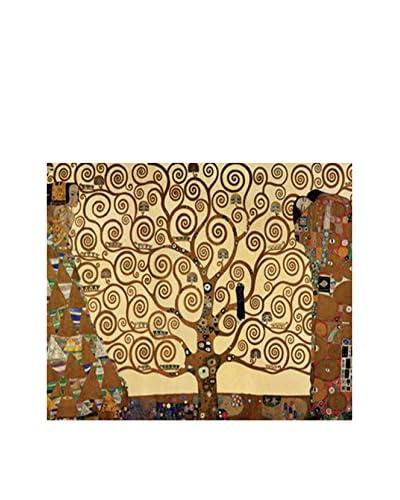 Tele d'autore by MANIFATTURE COTONIERE Panel Decorativo Klimt -Albero Della Vita