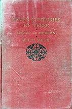 Seven Centuries of Verse, English &…