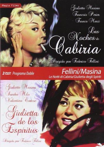 Programa Doble - Fellini/Masina (Las Noches De Cabiria + Giulietta De Los Espíritus) [DVD]