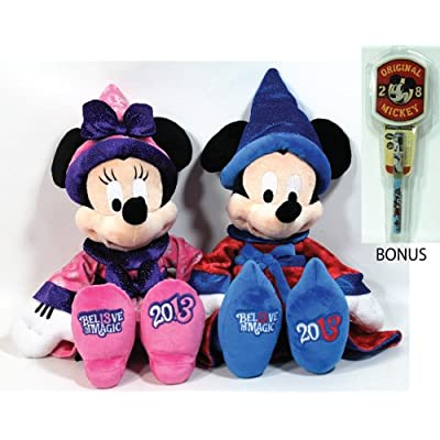 Amazon.com: Disney Parks 2013 Sorcerer Mickey & Minnie