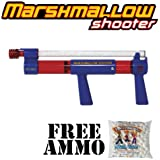 Toy Marshmallow Shooter w/ Free Bag of Marshmallow Ammo