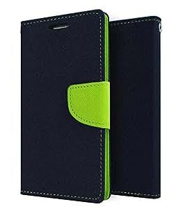 DR2S Mercury Goospery Wallet Flip Cover for LG NEXUS 5X - Blue