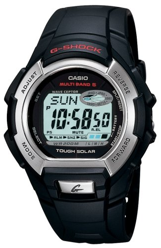 Buy CASIO MULTI-BAND 5 ATOMIC SOLAR G-SHOCK WATCH BLACK GW800-1V