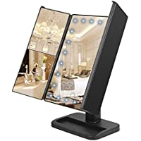 WYAO Touch Screen 24 LED Lighted Makeup Mirror