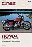 Honda Gl1000 & 1100 Fours, 1975-1983: Service, Repair, Maintenance