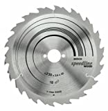 Bosch 2608640788 (2 608 640 788) Circular Saw Blade Speedline Wood 165 X 30/20 X 2,4 Mm, 12