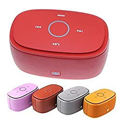 Bluetooth Multimedia Speaker in a Metallic Gift Pack / Conference Call Feature - Kingone K5