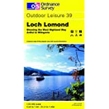 Loch Lomond (Outdoor Leisure Maps)by Ordnance Survey
