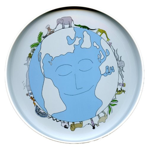 Image of Child's Dinner Plate - BPA Free