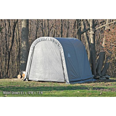 ShelterLogic Ultra Shed - Round Style, 16Ft.L