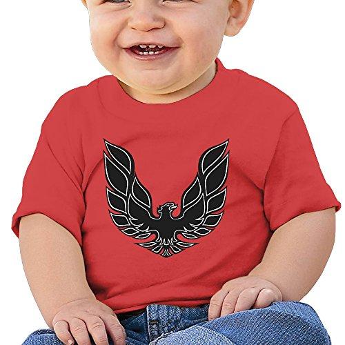 DOfunn Unisex-Baby/Toddler/Infant Pontiac Trans Am Firebird Logo T-Shirts (Pontiac Formula compare prices)