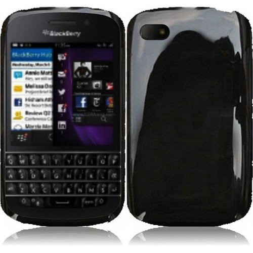 Cell Accessories For Less (Tm) For Blackberry Q10 Tpu Cover Case - Black - By Thetargetbuys