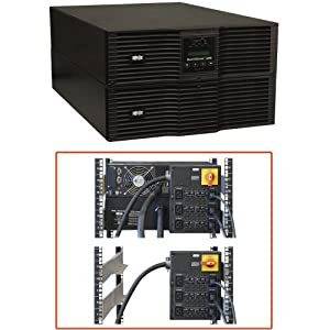 Tripp Lite SU8000RT3UG 8000VA Smart Online Double-Conversion UPS, 6U Rack/Tower, 200-240V C19 outlets