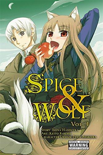 Spice and Wolf, Vol. 1 - manga [Isuna Hasekura] (Tapa Blanda)