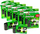 Photography - Fujifilm QuickSnap 400 Speed Single Use Camera with Flash (10-Pack)