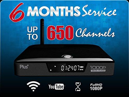 SHAM IPTV© Box + 6 Month Service  700 High Quality Arabic