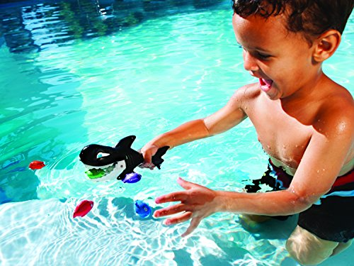 SwimWays Gobble Gobble Guppies Pool Game - 1